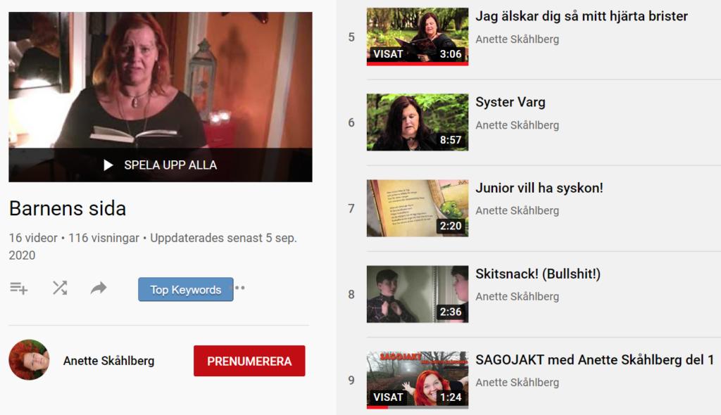 Anette Skåhlberg - YouTube