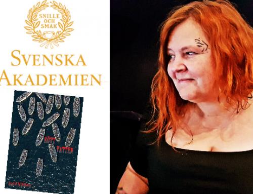 Anette Skåhlberg har fått stipendium från Svenska Akademien