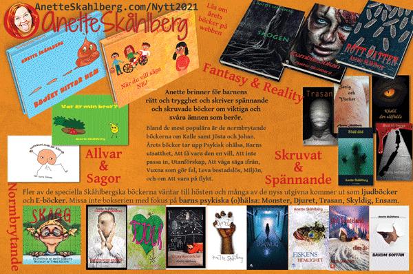 Böcker 2021 - Anette Skåhlberg