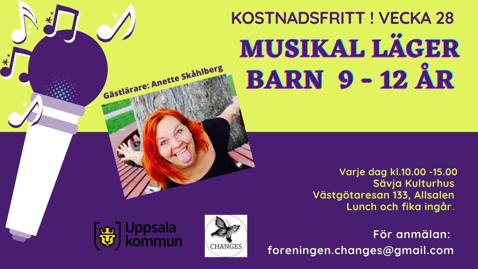 Musikalläger i Sävja - Anette Skåhlberg och Claudia Unda